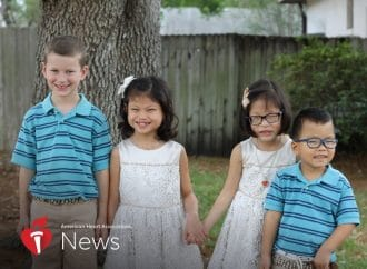 AHA News: Family Adopts Three Children With Three Different Heart Conditions