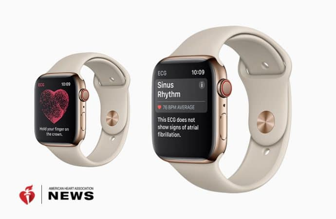 AHA: Apple's Smartwatch Has a Heart Monitor Now