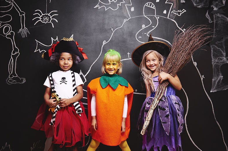 Dress Kids in Safe Costumes