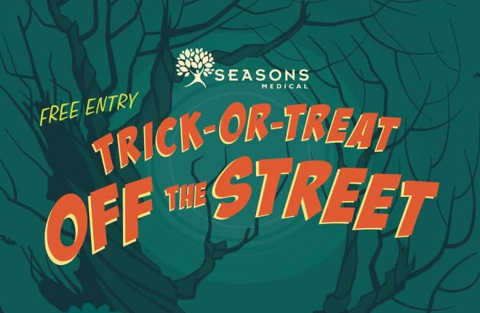 6th Annual Trick-or-Treat OFF the Street at Seasons Medical