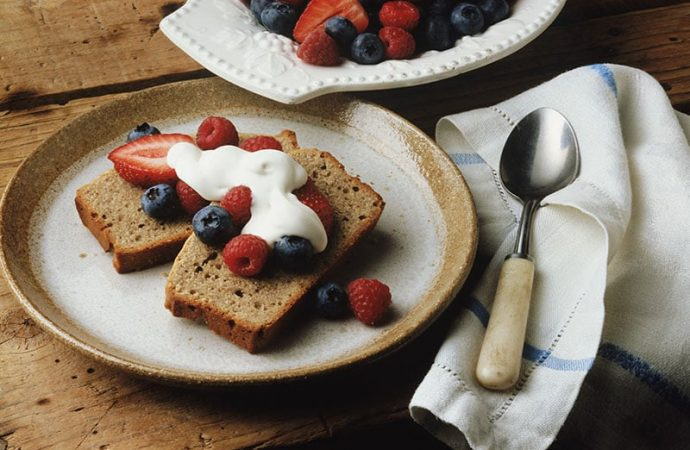 Try This Whole-Grain Lemony Quick Bread
