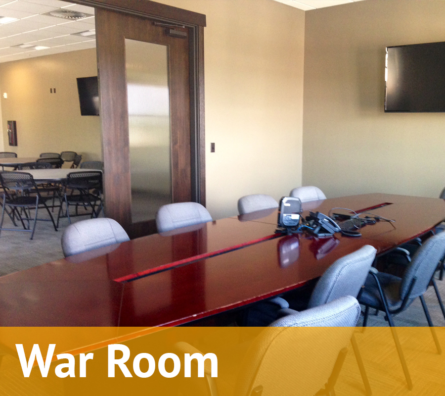 The Veranda War Room